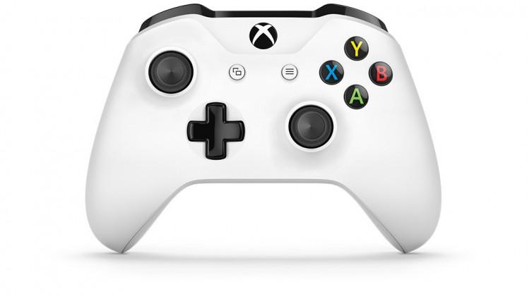 Gamepady pre Xbox Xbox ONE S Bezdrátový ovladač, bílý (PC, Xbox ONE) TF5-00004