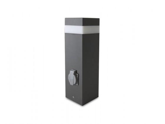 Gard - vonkajšie svietidlo, 16LED, 1,2W, 37x30x40 (hliník)