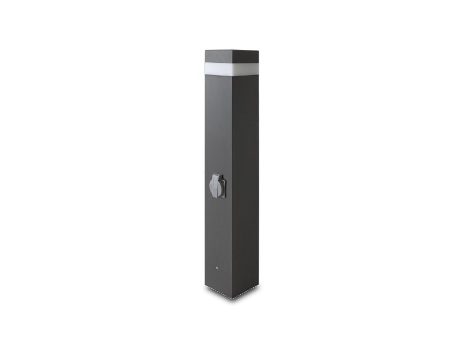 Gard - vonkajšie svietidlo, 16LED, 37x30x80 (hliník)