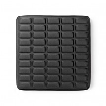 Gélový ergonomický podsedák Nedis ERGOGSS100BK, čierny