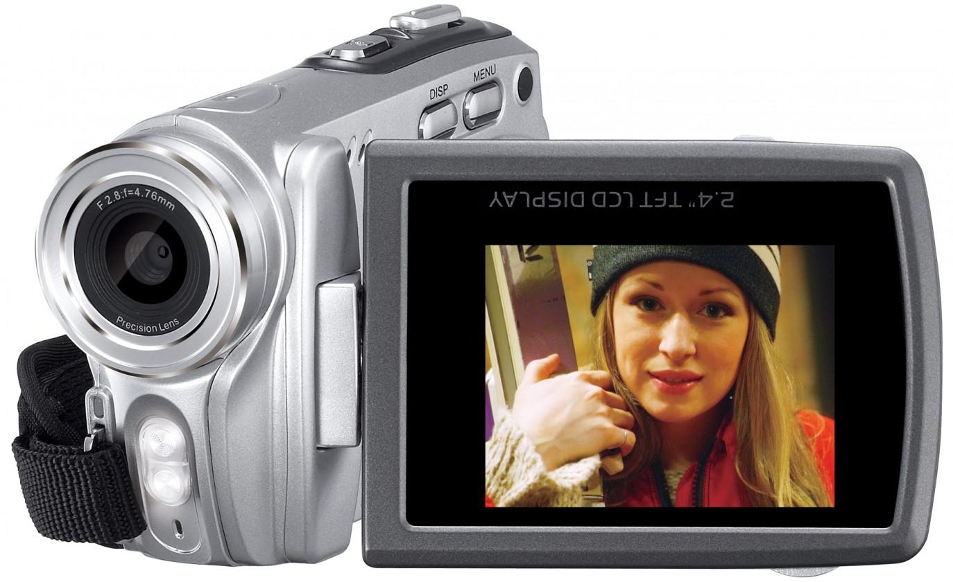 Genius digitální kamera DV800, HD, 16x zoom