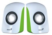 GENIUS repro SP-U115, prenosné, USB napájanie, biele