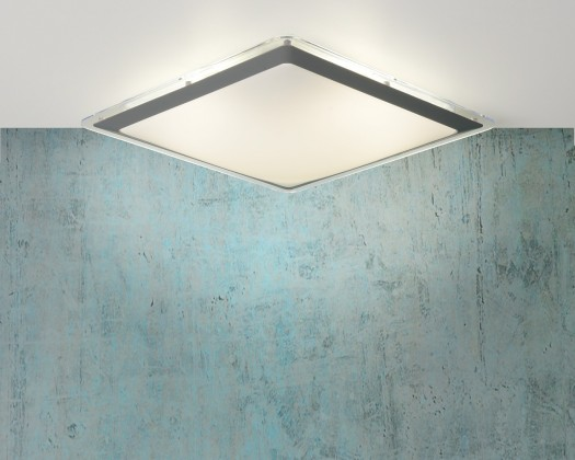 Gently - stropné osvetlenie, 22W, T5, 32 cm (sivá)