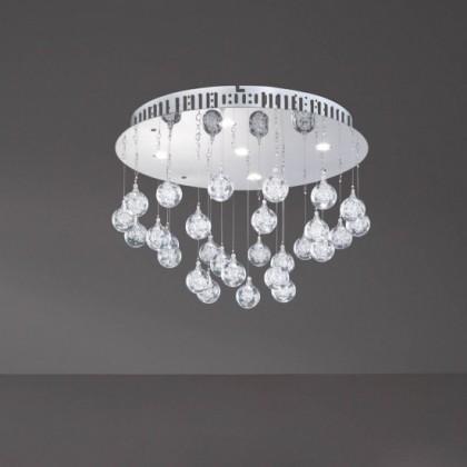 Glam - Stropné osvetlenie, LED (chróm)