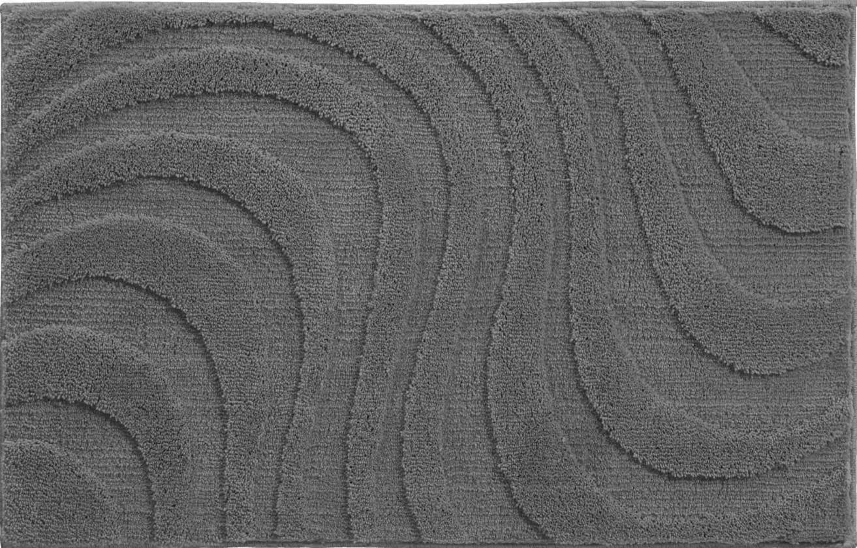 Glory - Kúpeľňová predložka 70x120 cm (asfaltová)