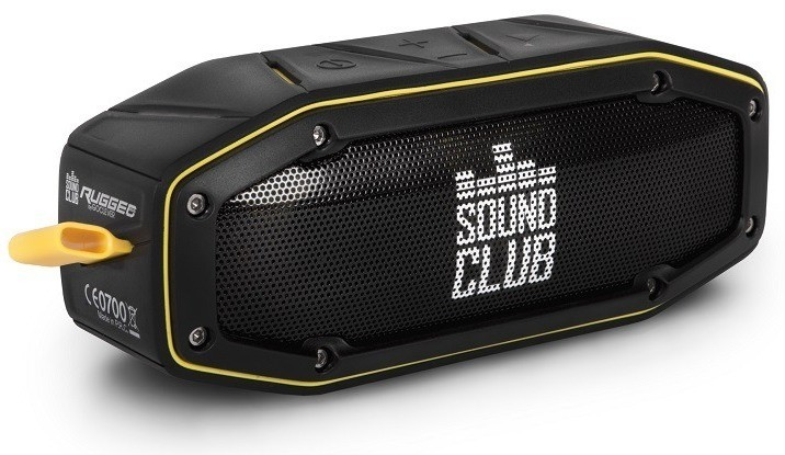 GOCLEVER Sound Club Rugged mini, ?ierna/?lt?