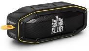 GOCLEVER Sound Club Rugged mini, čierna/žltá