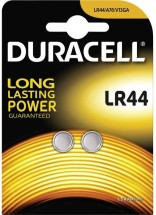 Gombíková batéria Duracell DU LR 44 B2 V13GA/LR44