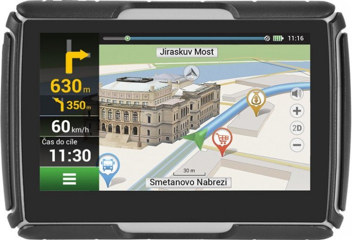 "GPS Navigácia 4,3"" Navitel G550 Moto LM, 47zemí, IP67, Speedcam"