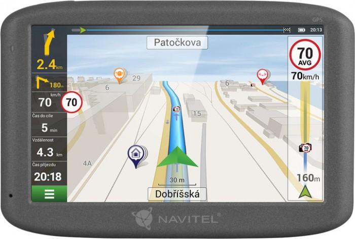 "GPS Navigácia 5"" Navitel F150 LM, 5 krajín, Speedcam NEKOMPLETNÉ"