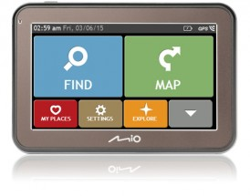 "GPS Navigácia Mio Spirit 5670, 4,3"", 44 krajín, LM"