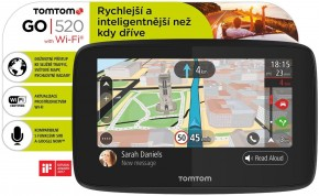 """GPS Navigácia Tomtom GO 520, 5"""" doživotná aktualizácia"""