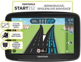 """GPS Navigácia Tomtom Start 52, 5"""", 45 krajín, LM"""
