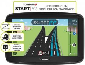 """GPS Navigácia Tomtom START 52, 5"""" doživotná aktualizácia"""