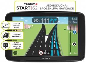 """GPS Navigácia Tomtom START 62, 6"""" doživotná aktualizácia"""