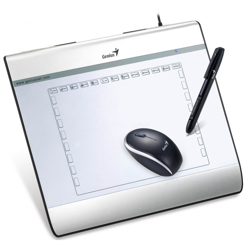 Grafický tablet Grafický tablet Genius EasyPen i608X (31100060101)