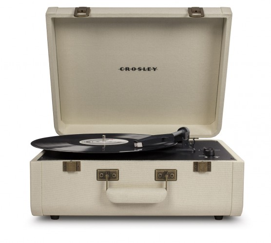 Gramofón Crosley Portfolio, krémový