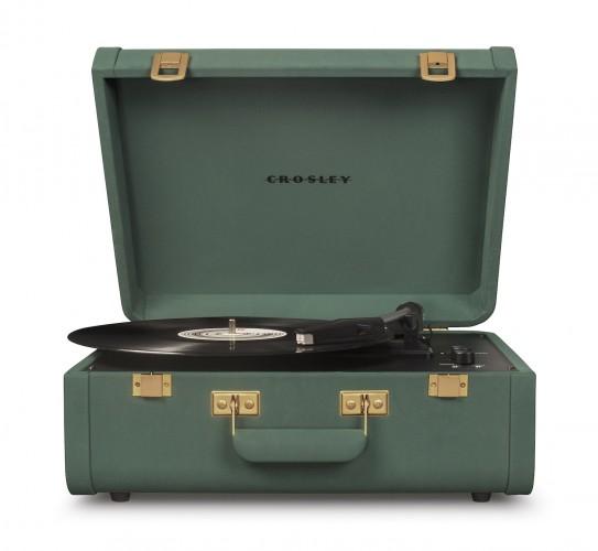 Gramofón Crosley Portfolio, zelený
