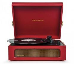 Gramofón Crosley Voyager, červený
