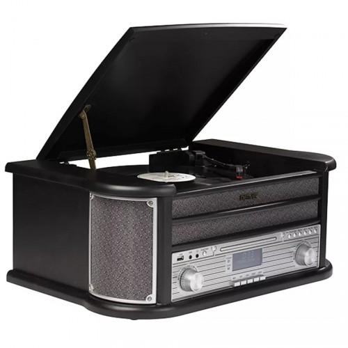 Gramofón Denver MRD-51 BLACK POUŽITÉ, NEOPOTREBOVANÝ TOVAR