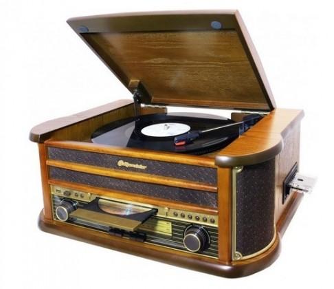 Gramofón Roadstar HIF1899TUMPK NEKOMPLETNÉ PRÍSLUŠENSTVO