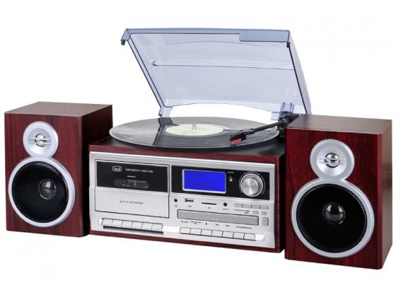 Gramofón Trevi TT 1070E hnědý
