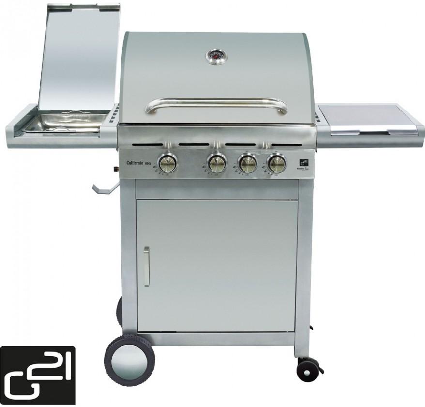 Gril Gril G21 California BBQ Premium line, 4 hořáky