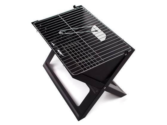 Gril, príslušenstvo Grill piknikový Flat (čierna)