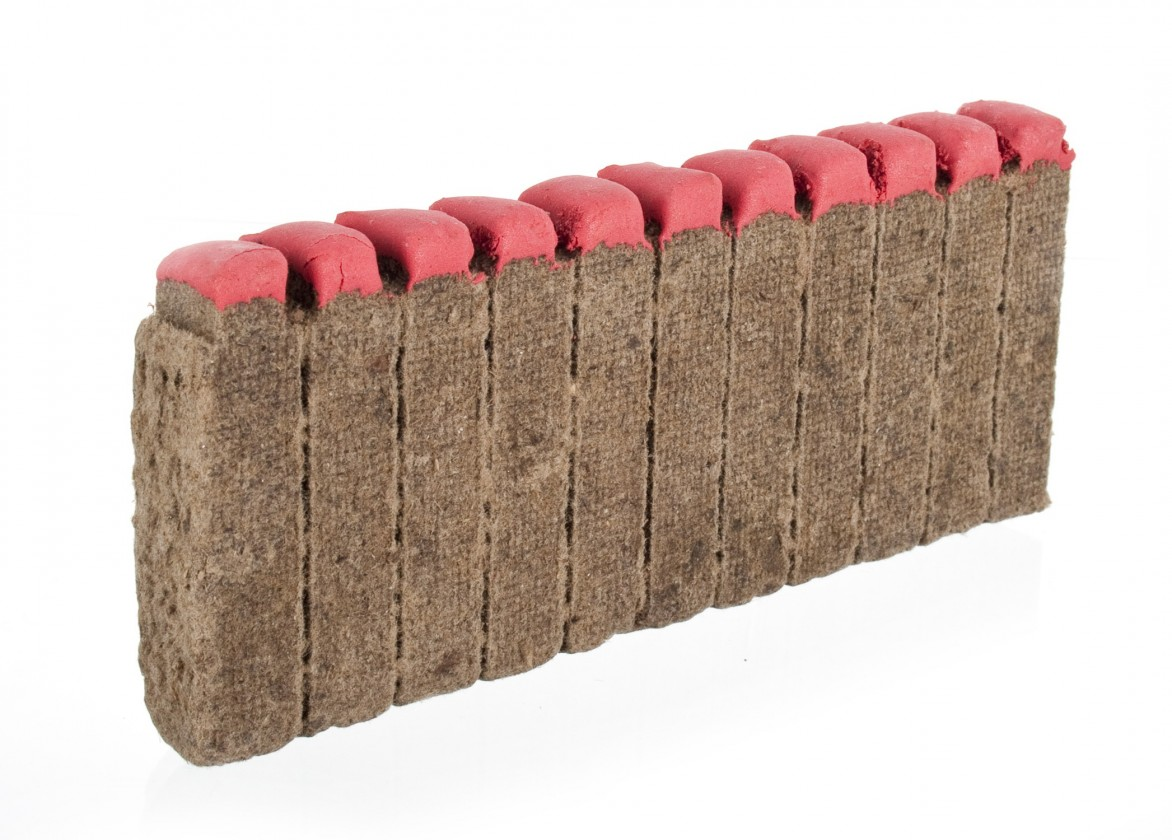 Gril, príslušenstvo Podpaľovač drevený sa zápalkou, 12ks (drevo)