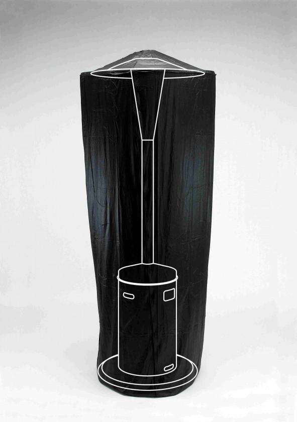 Gril, príslušenstvo Pokrývka na vonkajšie ohrievač (čierna)