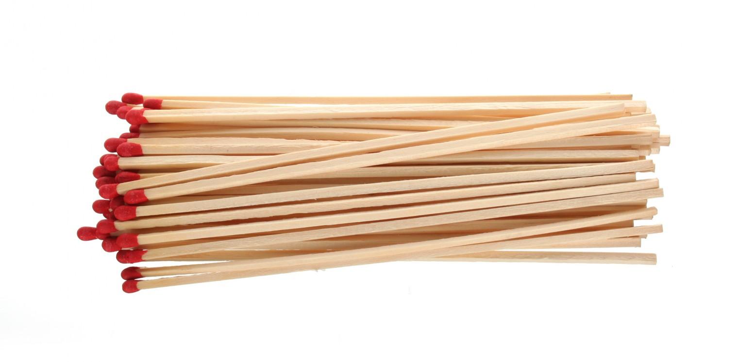 Gril, príslušenstvo Zápalky krbové, 50ks, 170mm (drevo)