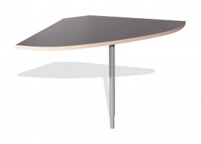 GW-Duo - spojovací roh stola (antracit 1688)