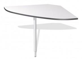 GW-Linea - spojovací roh stola (antracit / biela)