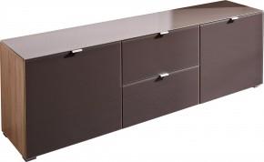 GW-Perla-skriňa,dvere,2xšuplík (dub sonoma-korpus/grafit-front)