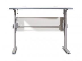 GW-Profi-Stol,výškovo nastavitelný,š. 100cm (svetle sivá)