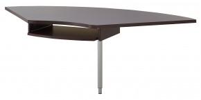 GW-Profi - Výškovo nastaviteľný spojovací roh stola (dub havana)