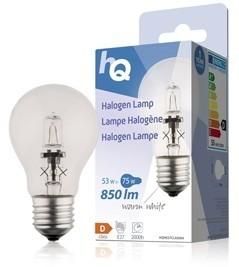 Halogénová žiarovka HQ E27 / 53W 850L 2800K