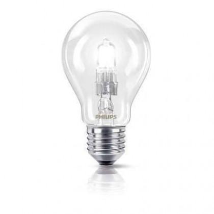 Halogénové žiarovky  Philips EcoClassic 42W E27 230V A55 CL 1CT/10