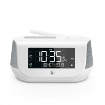 Hama DR36SBT, FM/DAB/DAB+/Bluetooth, biele
