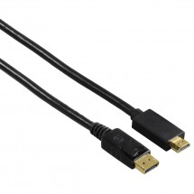 Hama kábel DisplayPort - HDMI, UHD / 4K, 1,8 m