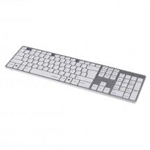 Hama klávesnice Rossano, bíla/stříbrná POUŽITÉ, NEOPOTREBOVANÝ TO