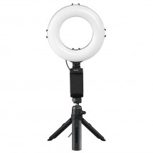 """Hama kruhové LED svetlo 6,7"""" pre smartfóny/tablety, s Blueto"""