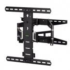 Hama nástenný držiak TV, pohyblivý, 400x400, 5 *, čierna