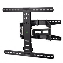 Hama nástenný držiak TV, pohyblivý, 700x500, 5 *, čierna
