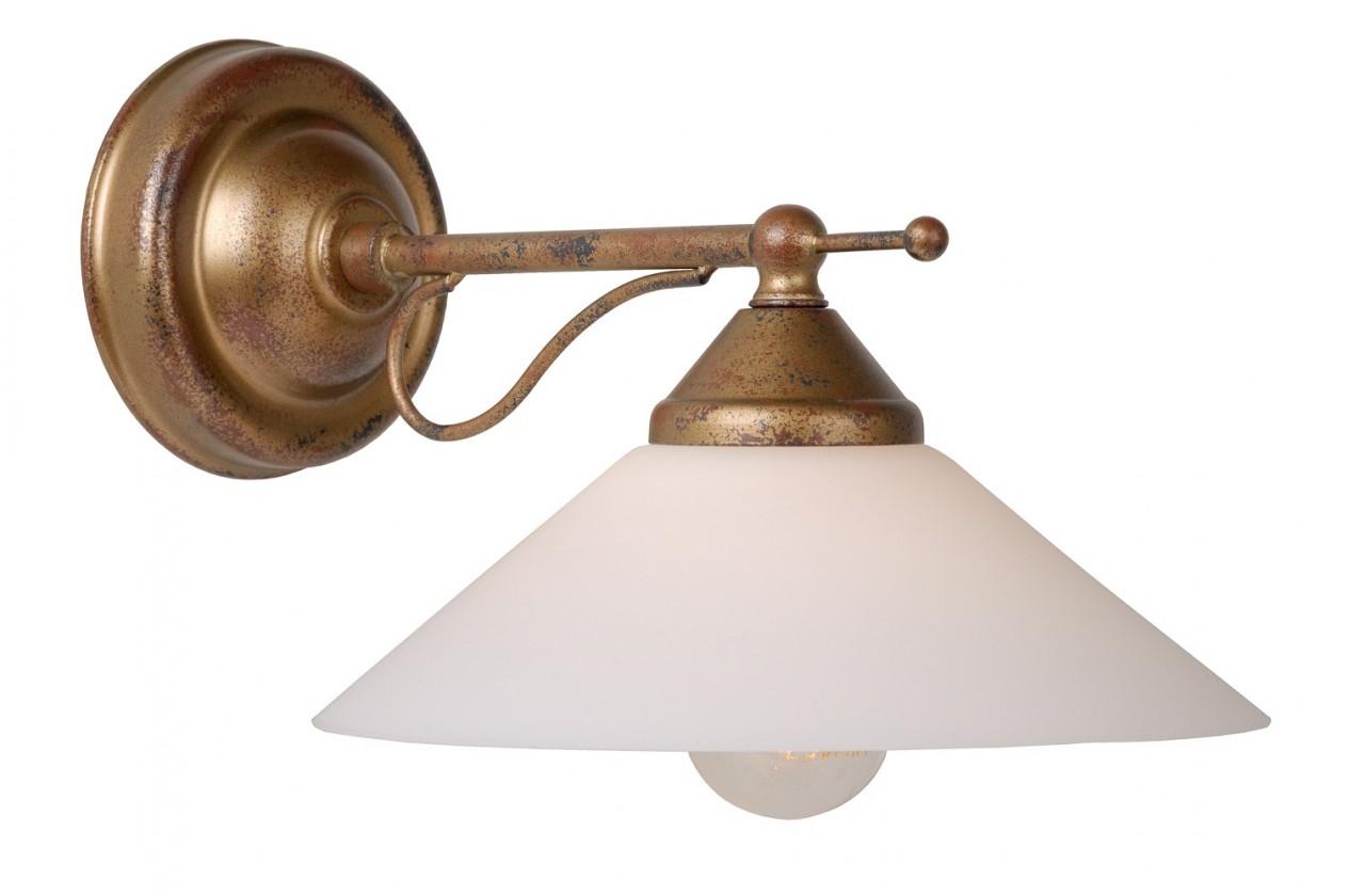 Hamilton - nástenné osvetlenie, 11W, E14 (bronzová)