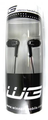 """Hands free Handsfree stereo """"N"""" LG micro USB POUŽITÝ, NEOPOTREBENÝ TOVAR"""