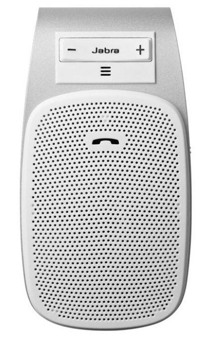 Hands free Jabra DRIVE Bluetooth handsfree, DSP, bílé ROZBALENO