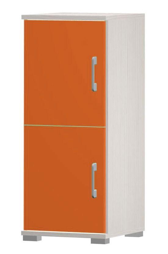 Happy - typ03 + 2x typ56 (woodline creme/tmavo oranžová)