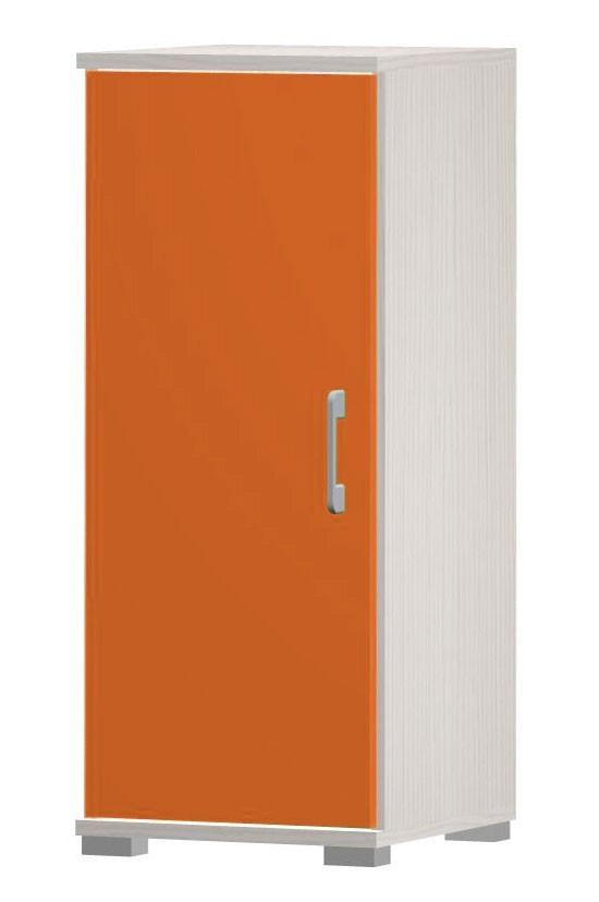 Happy - typ03 + typ50 (woodline creme/tmavo oranžová)