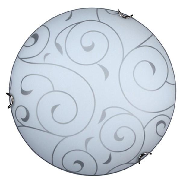 Harmony - Nástenná svietidla, E27 (biela se vzory/chrom)
